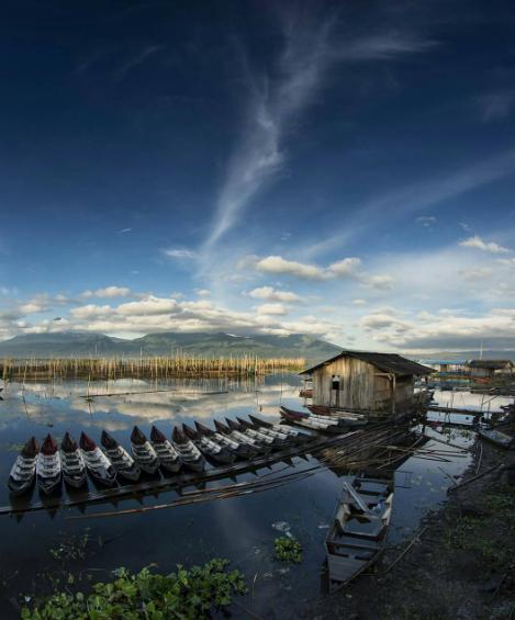 Keindahan Danau Rawa Pening