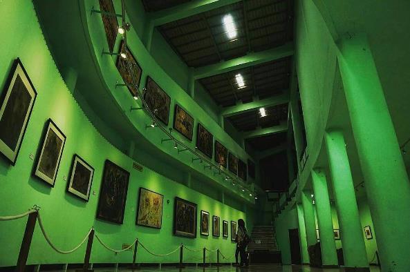 Letak Lokasi dan Harga Tiket Masuk Museum Affandi
