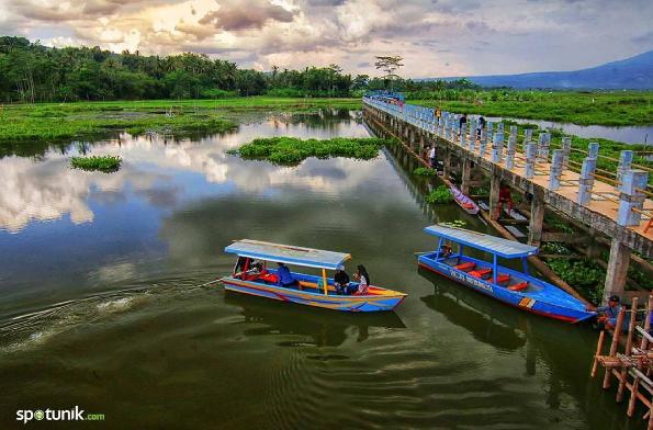 Liburan Mengagumkan Di Danau Eksotis Rawa Pening Ambarawa